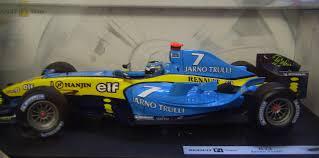 renault f1 hotwheels racing b6205 0510 modellauto renault f1 team r24 jarno