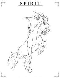 spirit esperanza and strider spirit stallion of the cimarron