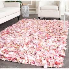 Shag Carpet Area Rugs Floor Safavieh Shag Woven Chic Pink Design Ideas With Shag