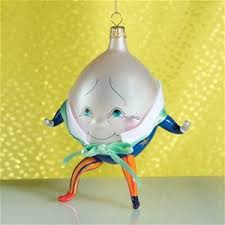 de carlini humpty dumpty ornament italian ornaments