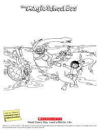 magic bus coloring pages free coloring kids 2800