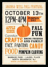 fall festival flyer google search design ideas pinterest