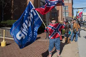 Black Guy With Confederate Flag Meet The Guy Who Burns Confederate Flags At Nascar Races Vice