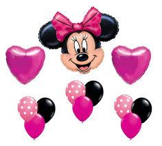 minnie mouse birthday minnie mouse pink polka dot heart mylar birthday