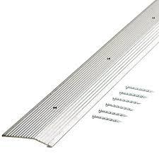 Laminate Floor Reducer Flexco Reducer 1 In X 36 Cappuccino Vinyl Reducers Floor