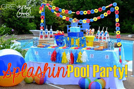 pool party ideas summer pool party ideas baby shower ideas themes