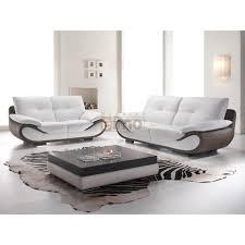 canapé cuir bicolore canapé cuir canapé design pas cher modèle 2 ou 3 places