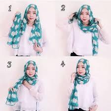 tutorial hijab pashmina tanpa dalaman ninja 5 tutorial sederhana untuk kamu yang baru belajar memakai hijab