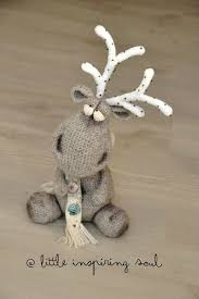 Knitted Reindeer Christmas Decorations by 187 Best Animals Deer Reindeer Etc Images On Pinterest