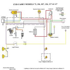 cub cadet 107 wiring diagram mytractorforum com the