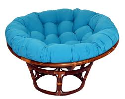 furniture pink papasan chair with white cushion on wooden floor ideas