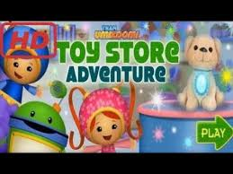 hd team umizoomi toy store adventure
