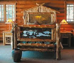 paul bunyan a frame bed western rustic furniture pinterest
