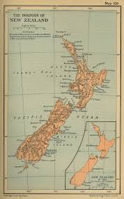 New Zealand Map Of New Zealand Since 1852