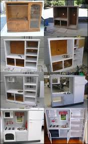 Pretend Kitchen Furniture How To Make A Play Kitchen From A 10 Of Furniture Plays