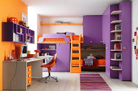 orange and purple room pleasing 50 purple bedroom ideas for