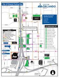 Orlando Area Map by Parking Rates City Of Orlando Transportation U2013 Parking