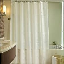 42 Inch Shower Curtain Extra Long Clear Shower Curtain Foter