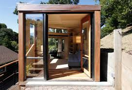 inspiring tiny house design ideas with lacquered wooden wall and