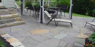 Building Flagstone Patio How To Install Flagstone Landscaping Network