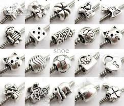 metal beads bracelet images Metal alloy silver plated beads bead spacer fit charm bracelets jpg