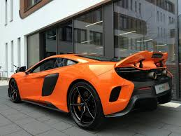 orange mclaren orange mclaren 675lt delivered to lucky owner in munich