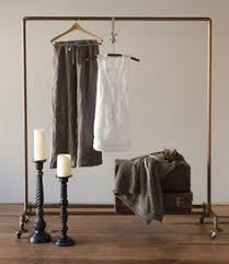 hanging copper pipe clothing rack u2013 craftbnb