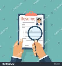 Tax Inspector Resume Resumes Hand Cv Application Selecting Staff Stock Vector 616097666