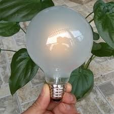 Frosted Light Bulbs Dimmable E27 B22 4w 6w 8w 10w 2800 3000k Warm White Led Filament