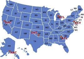 atlanta city us map flight inspection field offices