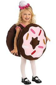 4t Halloween Costumes Doughnut Donut Girls Boys Kids Toddler Chocolate Dunk Halloween
