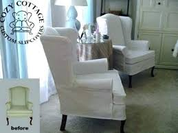 slipcover wing chair t cushion slipcover stretch wing chair slipcover slipcover wing