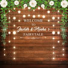 wedding backdrop board funnytree photo background glitter wedding custom wood board