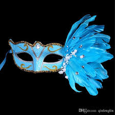 peacock masquerade masks half party mask woman masquerade masks luxury