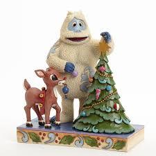 jim shore bumble rudolph decorating tree figurine 4041644