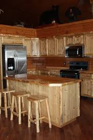 kitchen beautiful custom rustic kitchen cabinets country island
