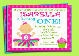 first birthday invitations template best template collection