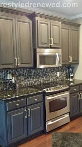 How To Paint Kitchen Cabinets Gray by 25 Best Chalk Paint Cabinets Ideas On Pinterest Chalk Paint