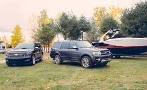 Expedition Specs 2015 Chevrolet Tahoe Ltz Vs 2015 Ford Expedition Platinum