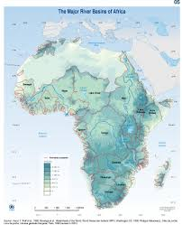 Africa Population Map by Africa River Basin Map Africa U2022 Mappery