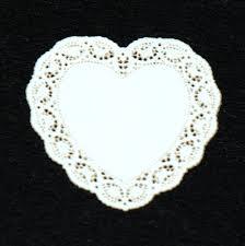 heart doilies heart miniature lace doily 26 stewart dollhouse creations