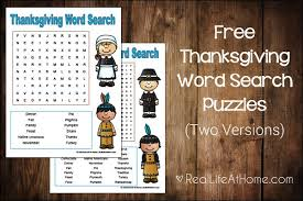 thanksgiving word search for free printables