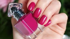 guerlain 069 lilac belt swatch la petite robe nail polish