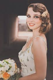 art deco wedding fashion