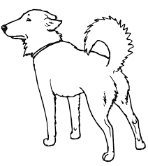free printable dog coloring pages kids clip art library