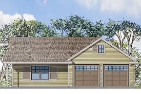 2 Car Garages by Traditional House Plans Garage W Living 20 116 Associated Designs