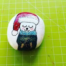 755 best pebbles and stones christmas images on pinterest rock