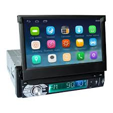 android in dash android 6 0 universal 1 din car player gps navigation in