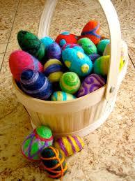 felted easter eggs needle felted easter egg workshop blushinglotusdesigns