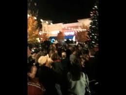 christmas tree lighting bridge street huntsville al christmas tree lighting at bridge street youtube